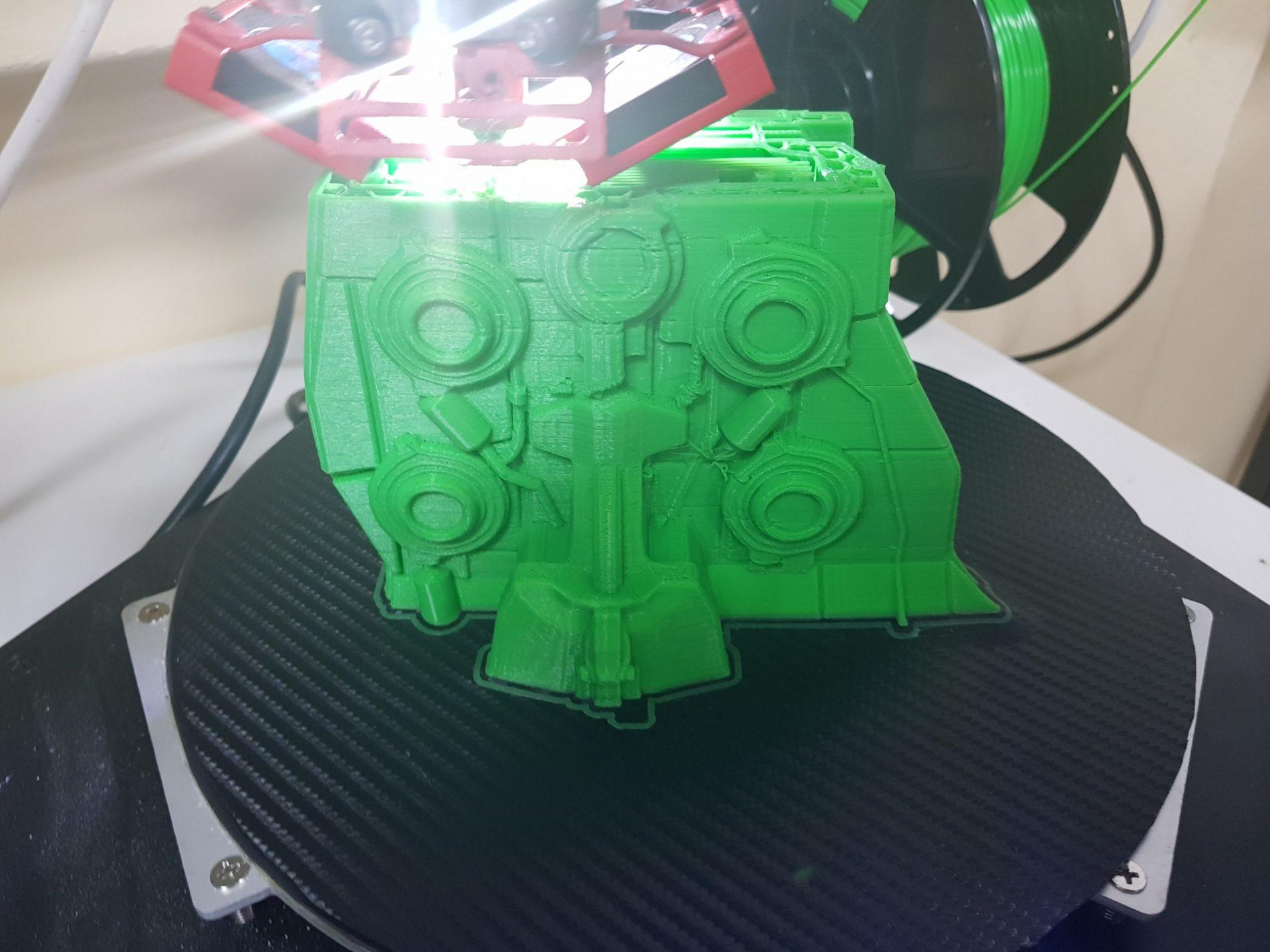 Battlecruiser 3D Printing Model
