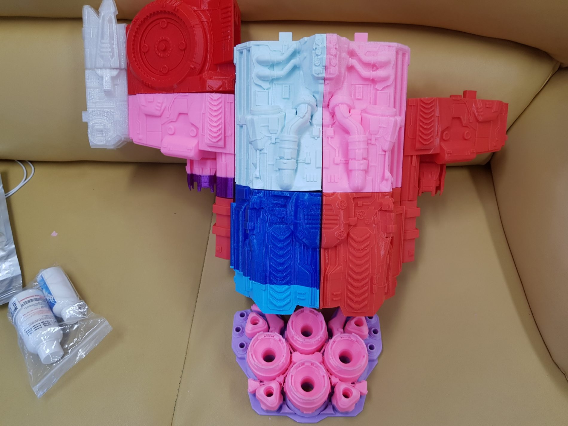 Battlecruiser 3D Printing model photo 3