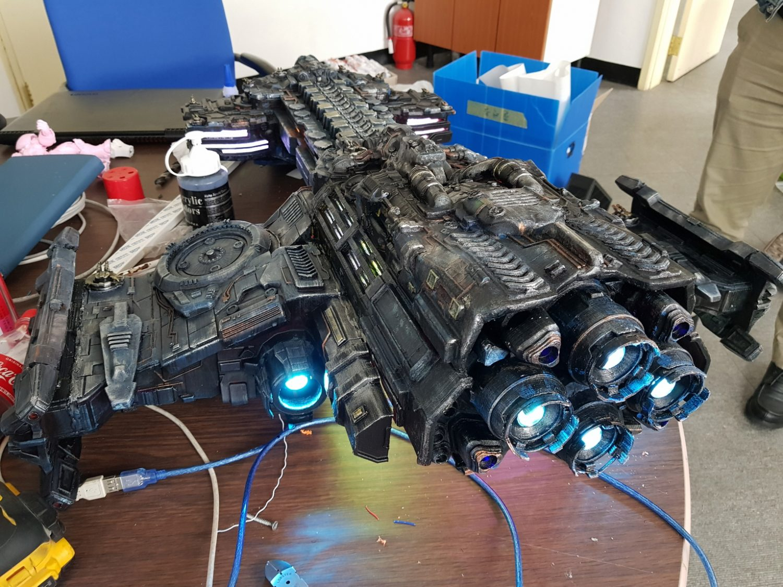Star Craft Battlecruiser 3D Printing Model