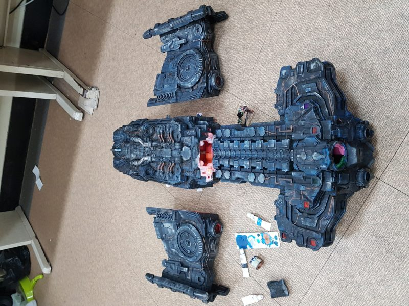 Star Craft Battlecruiser 3D Printing Model