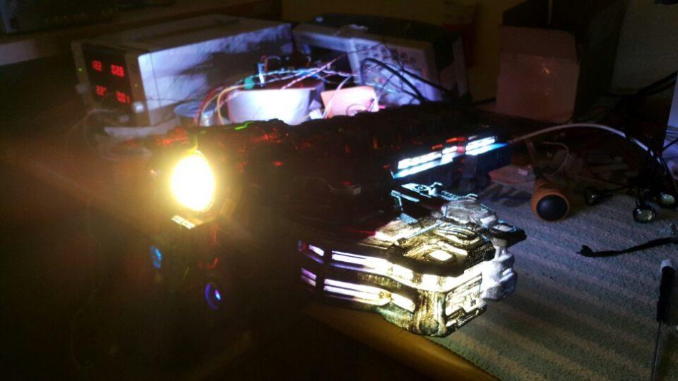 Battlecruiser 3D Printed Model