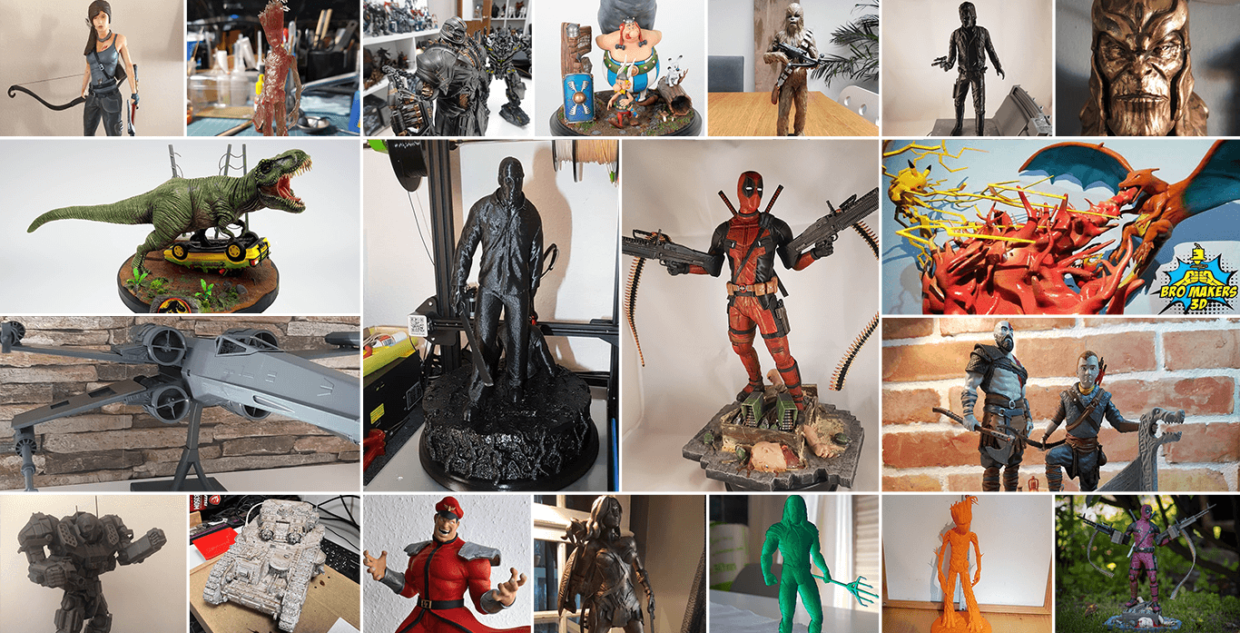 June 3D Printed Figurines Pick of the Month