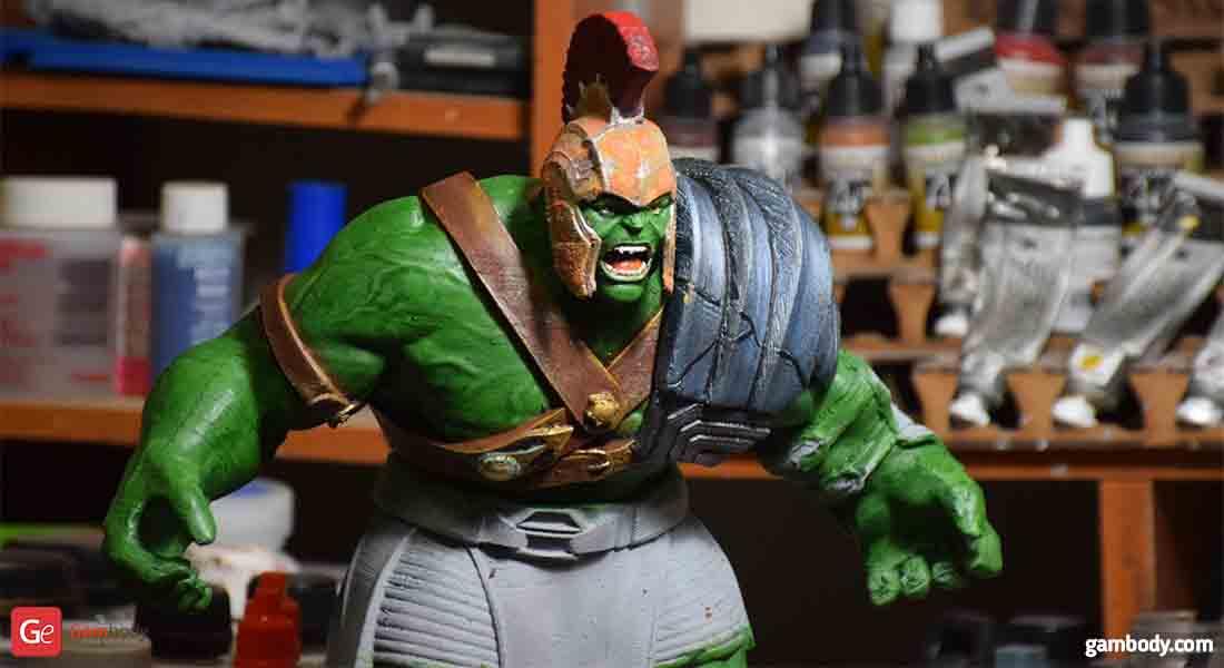 Armored Hulk 3D Printing Figurine Gambody Photo 2