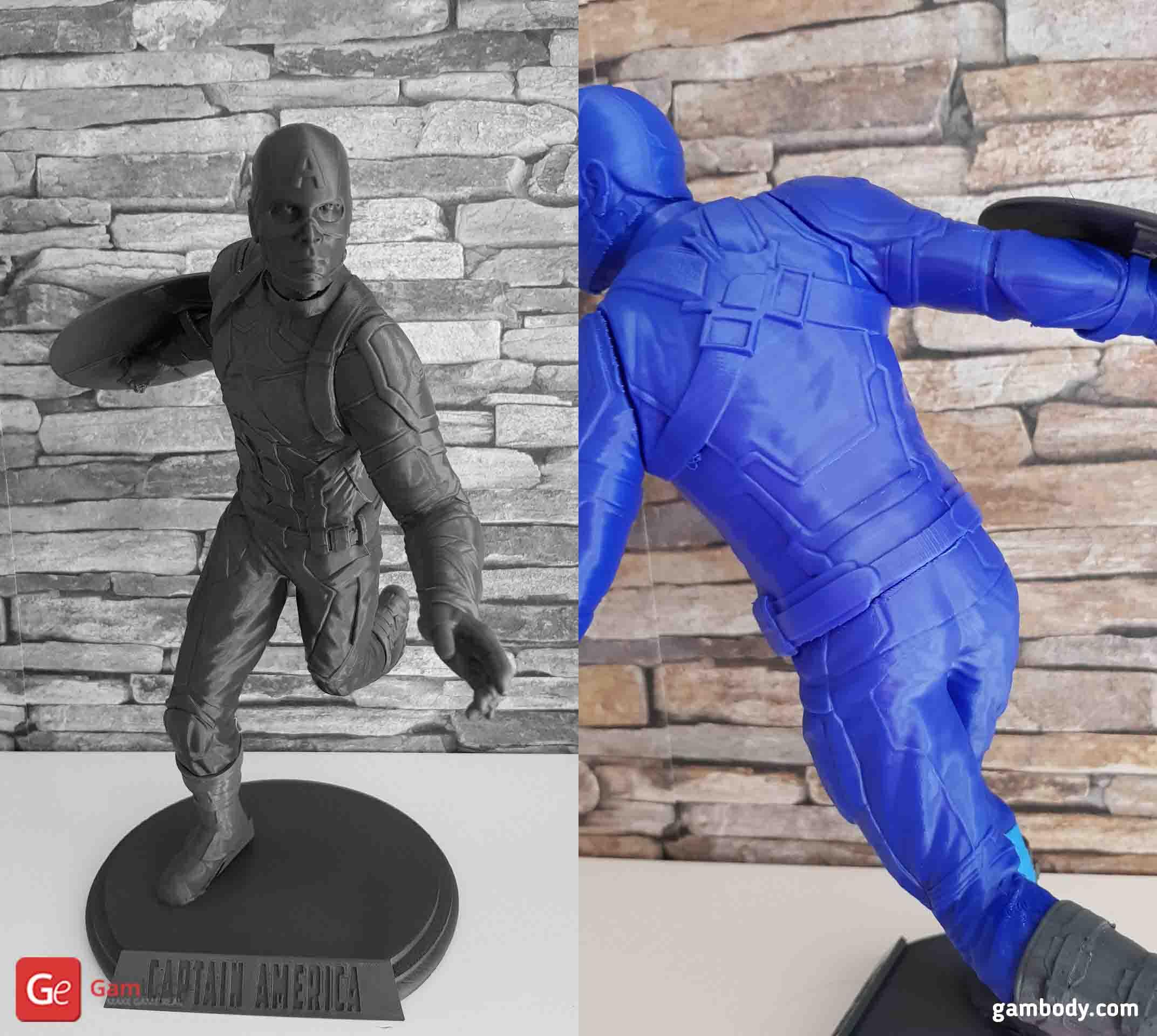 Captain America 3D Printing Figurine