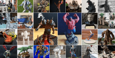 July 3D Printing Figurines Pick of the Month
