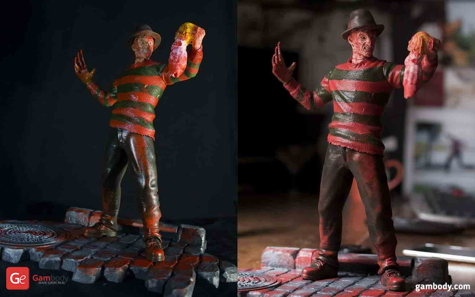 Freddy Krueger 3D Printing Figurine