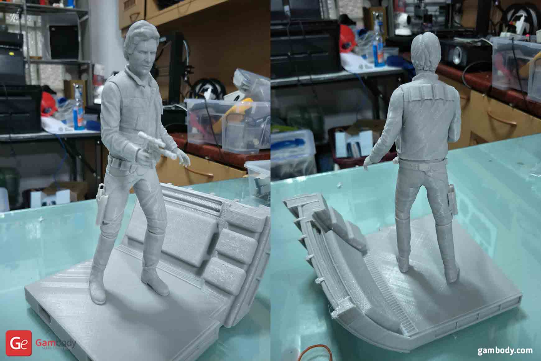 Han Solo 3D Printing Figurine
