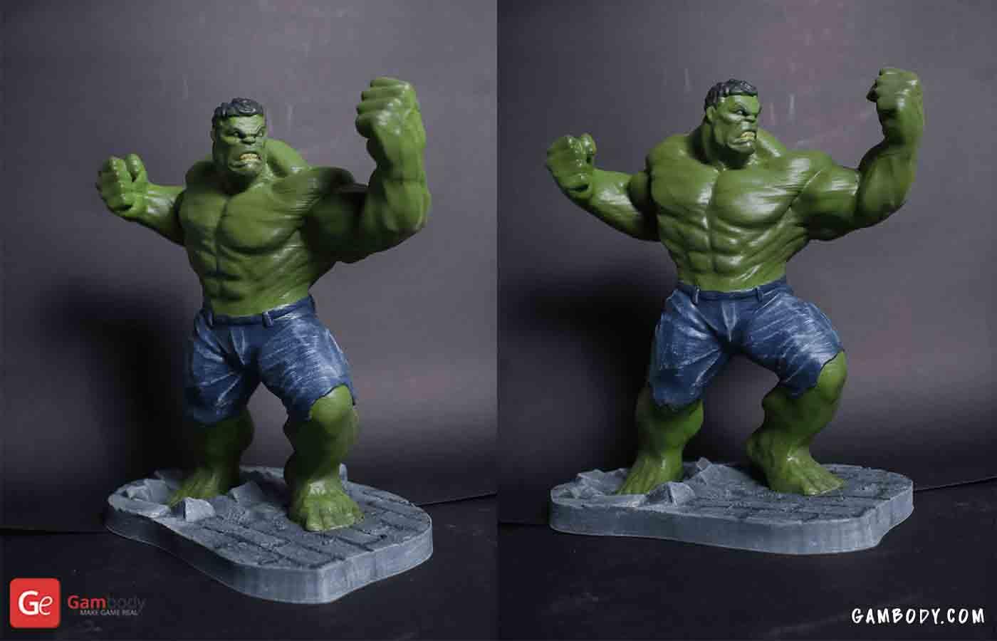 Hulk 3D Printing Figurine Gambody