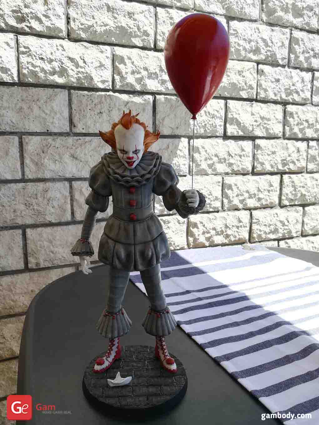 Pennywise 3D Printing Figurine