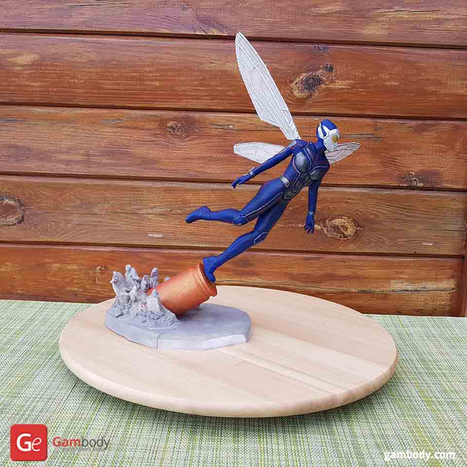 The Wasp 3D Printing Figurine