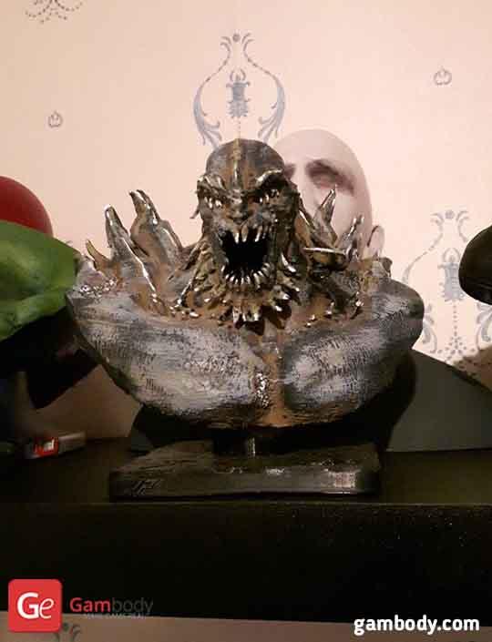 Doomsady 3D Printing Bust