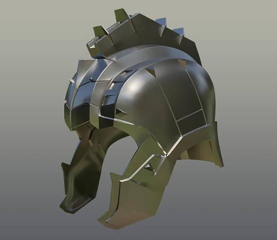 Hulk Helmet for 3D Printing cosplay
