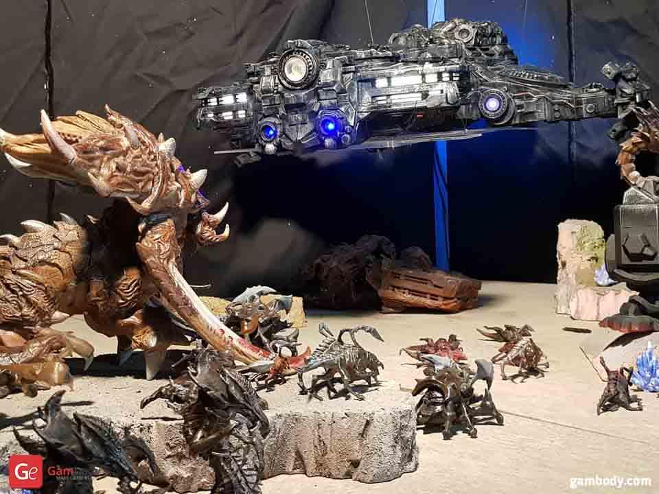 Star Craft 3D Printing Diorama