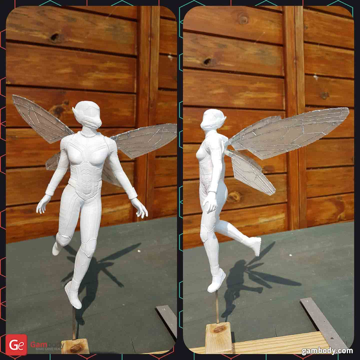 The Wasp 3D Printing Figurine for diorama