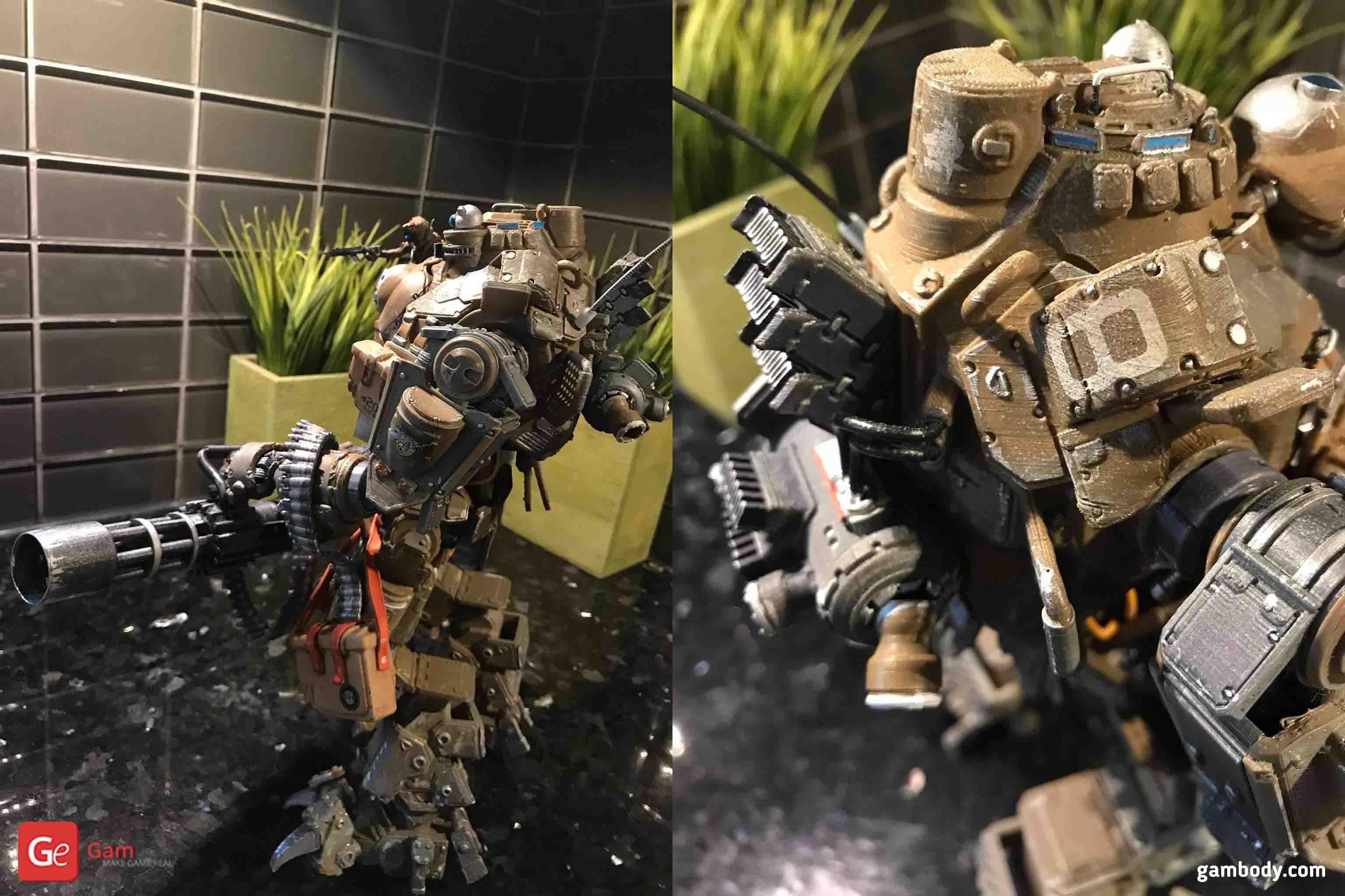 Atlas Titanfall 3D Printing Model