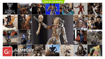 August 3D Printing Figurines Pick of the Month