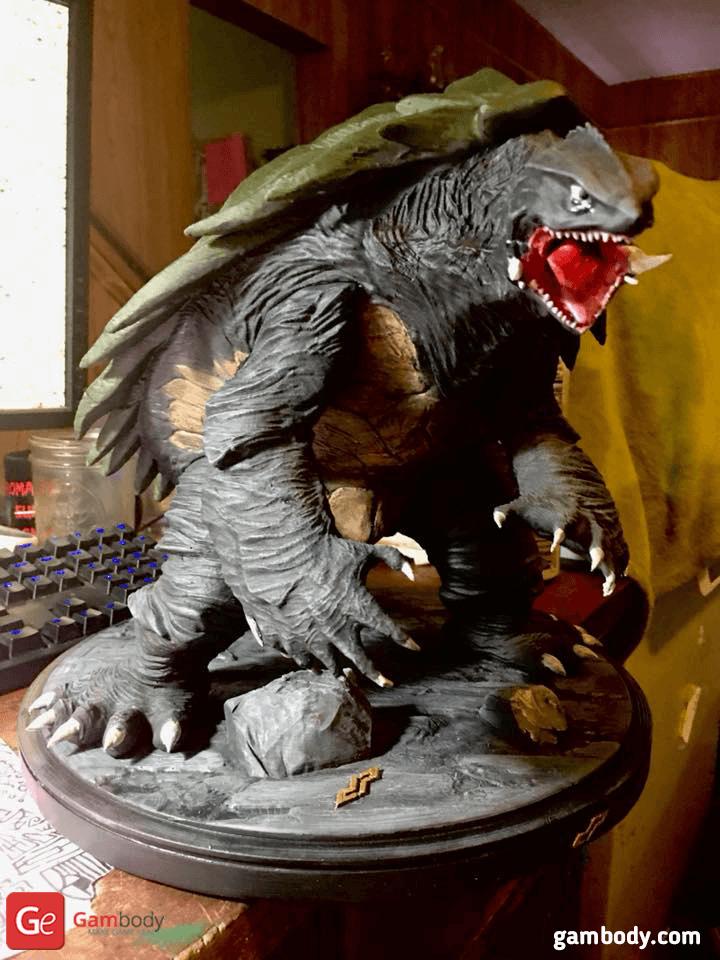Gamera 3D Printing Figurine