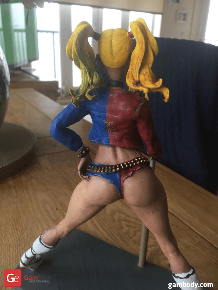 Harley Quinn 3D Printing Figurine Photo 3
