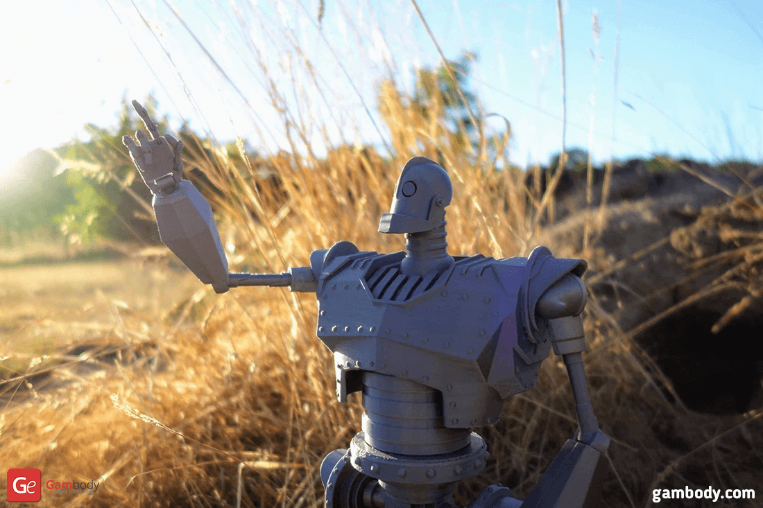 Iron Giant 3D Printing Model