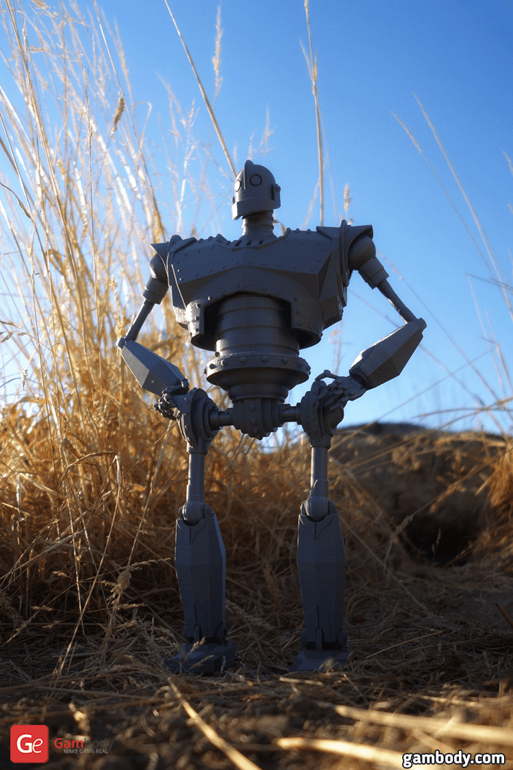 Iron Giant 3D Printing Model Photo 2