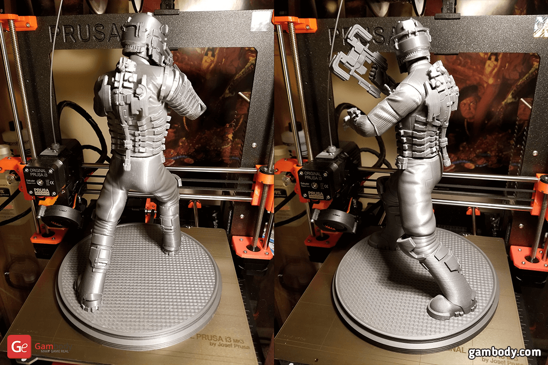 Isaac Clarke 3D Printing Figurine Photo 2