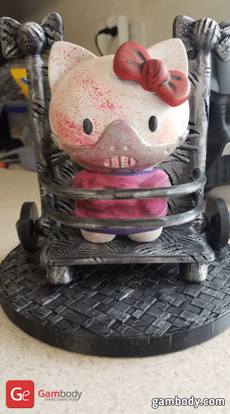 Hello Kitty 3D Printing Figurine