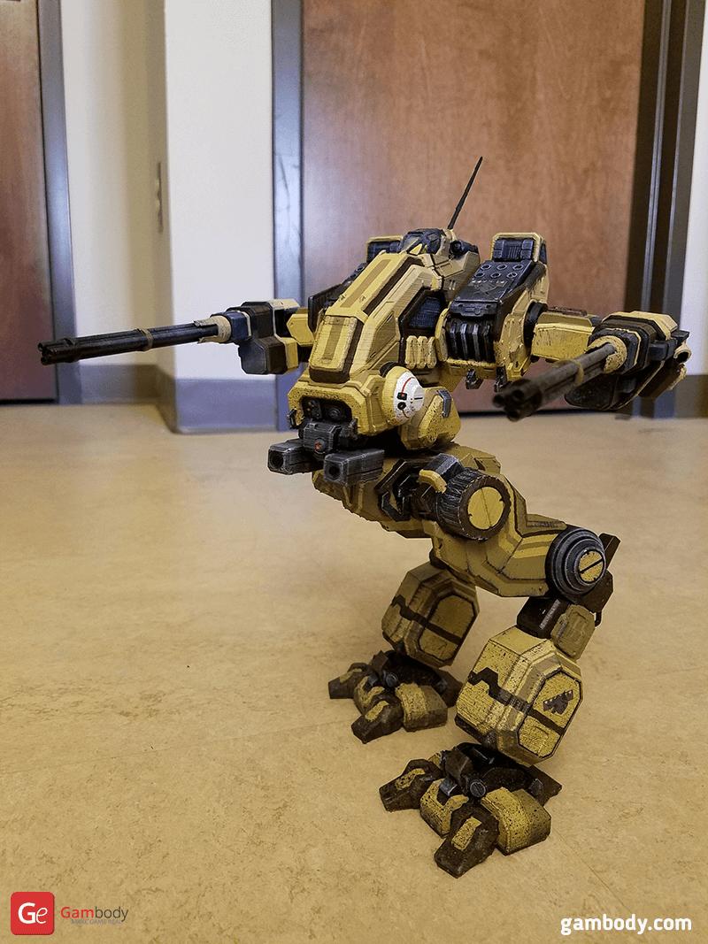 Mad Dog 3D Printing Model