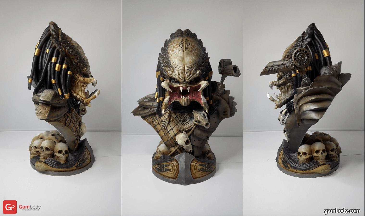Predator Bust 3D Printing Figurine
