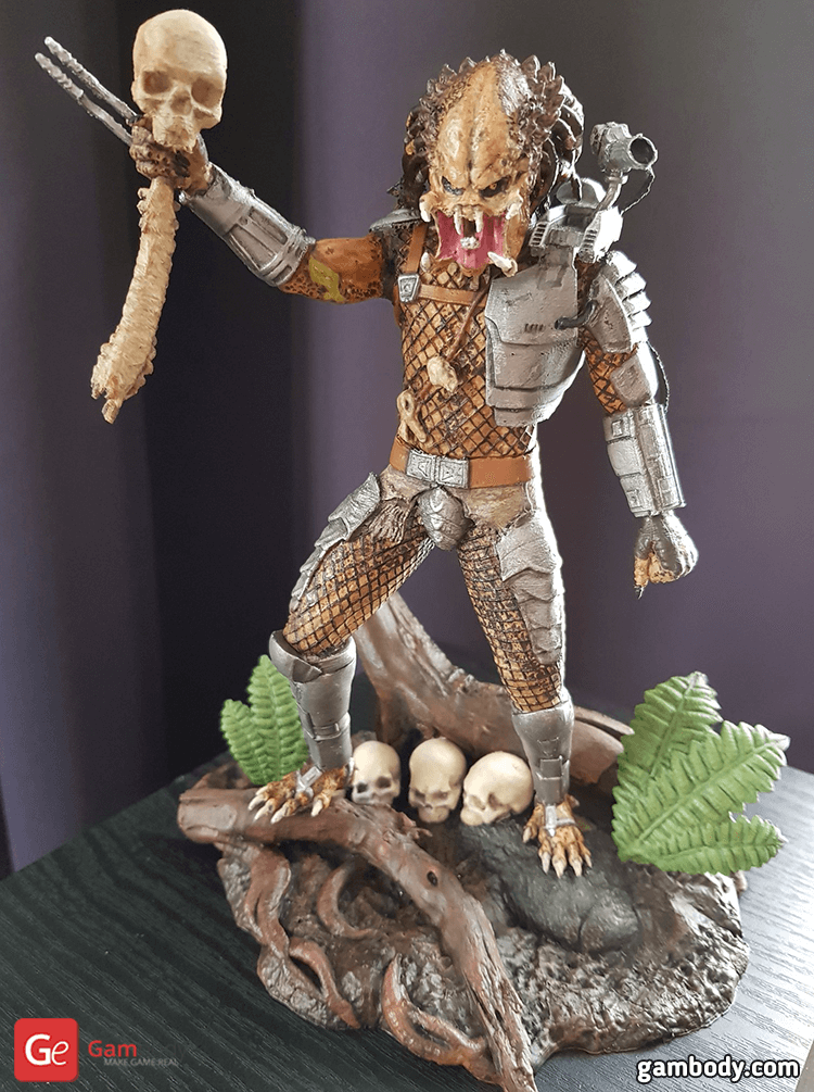Predator Jungle Hunter 3D Printing Figurine