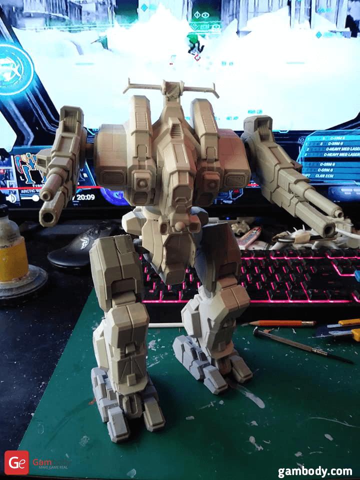Rifleman MWO 3D Printing Model