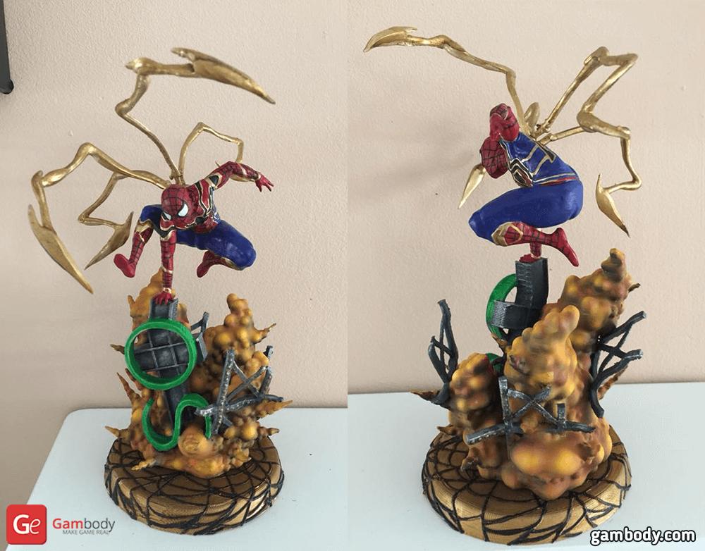 Spider Man 3D Printing Figurine