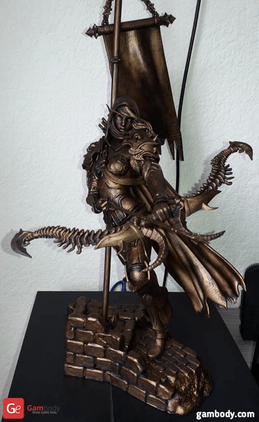 Sylvanas 3D Printing Figurine