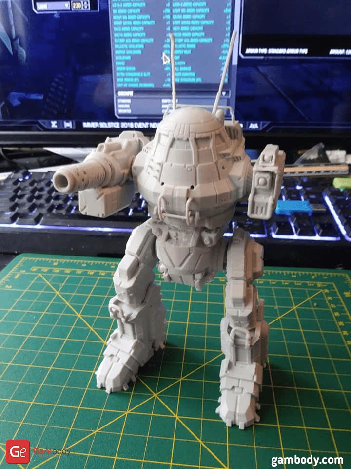 UrbanMech 3D Printing Model
