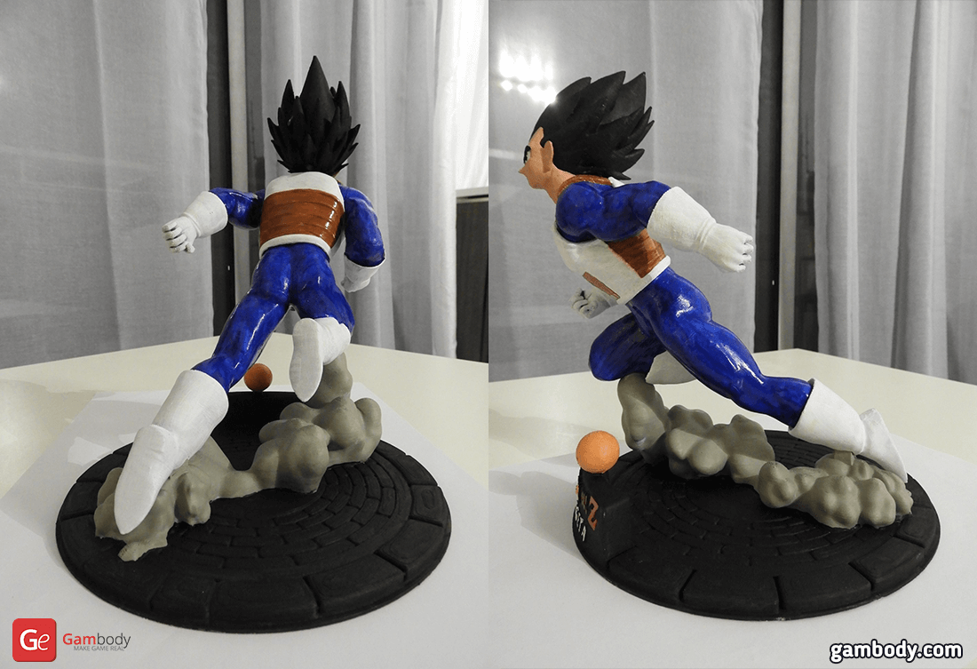 Vegetta 3D Printing Figurine Photo 2