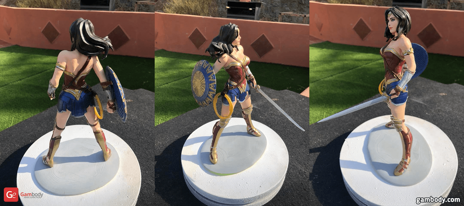 Wonder Woman 3D Printing Figurine