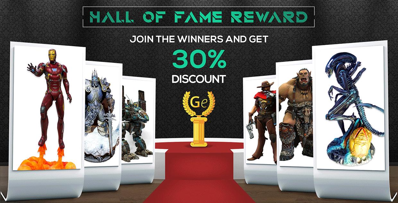 Hall of Fame Membership Reward
