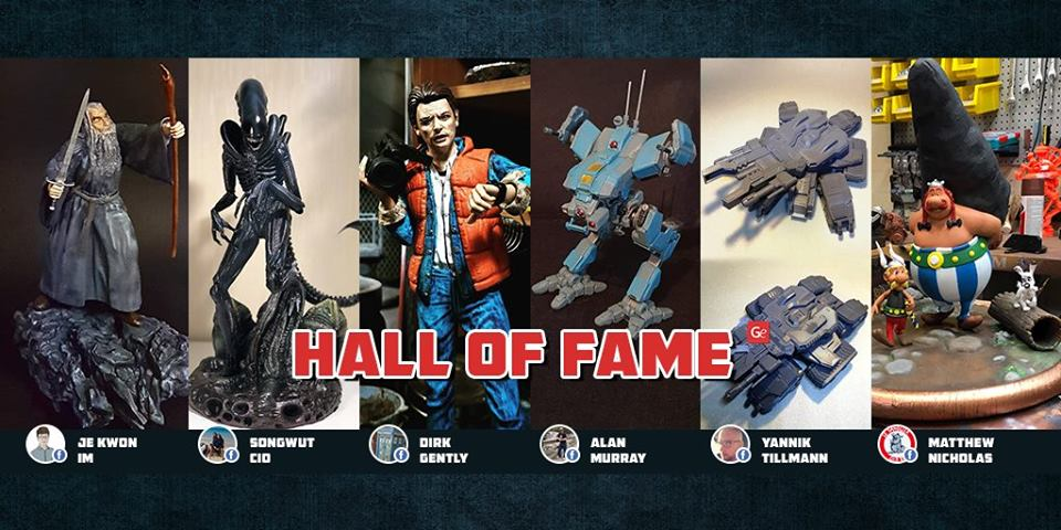 Hall of Fame December 01, 2018 on Gambody