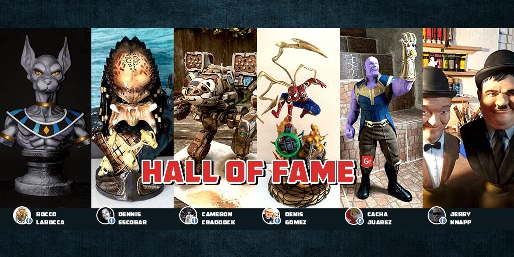 Hall of Fame September 01, 2018 on Gambody