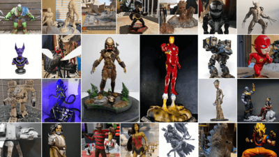 September 3D Printed Figurines Pick of the Month