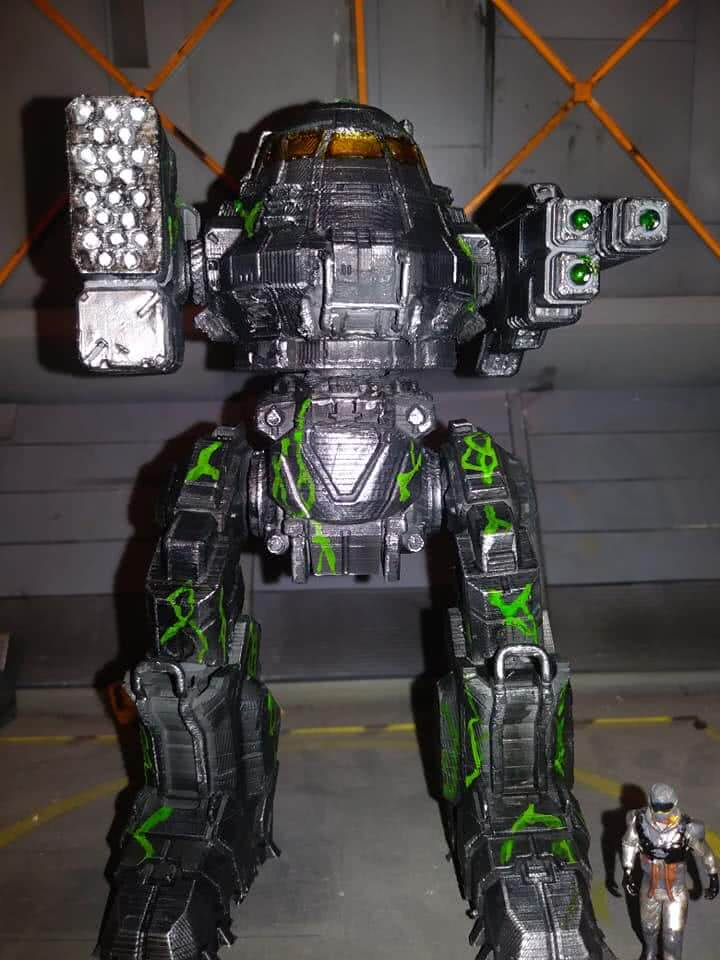 Urban Mech 3D Printing Model