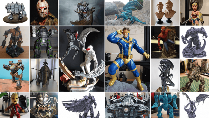 October 3D Printed Figurines Pick of the Month