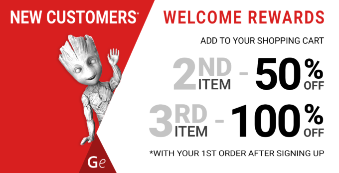 New Customers Welcome Rewards