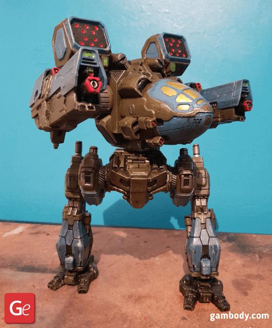 Mad Cat 3D Printing Model 2