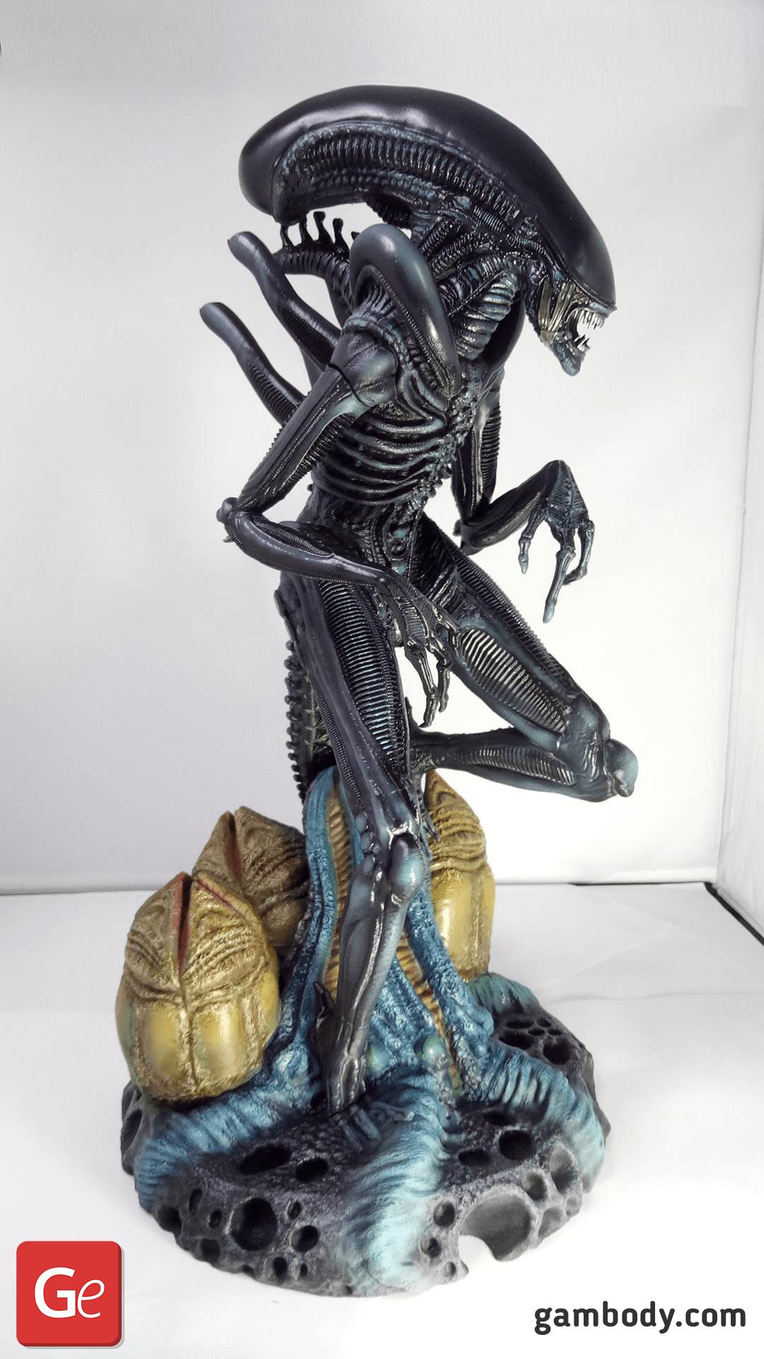 Alien 3D Printing Figurine