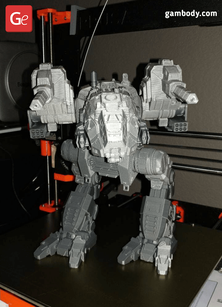 Catapult 3D Printing Model 3