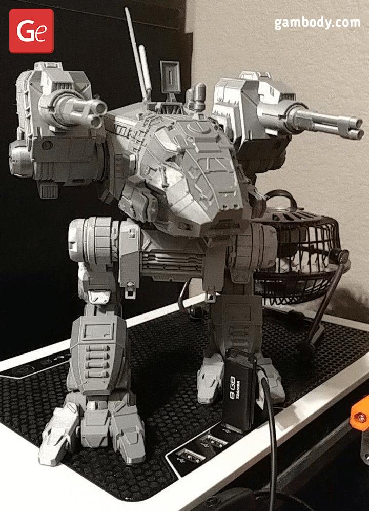 Catapult 3D Printing Model 6