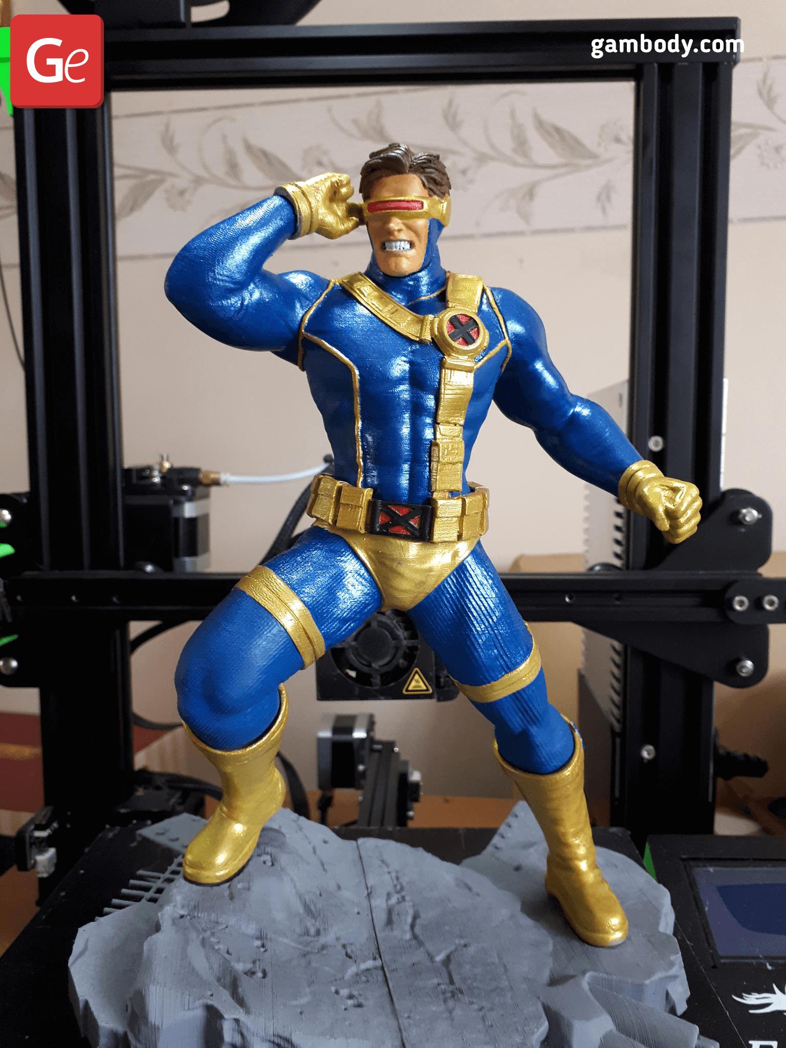 Cyclops 3D Printing Figurine