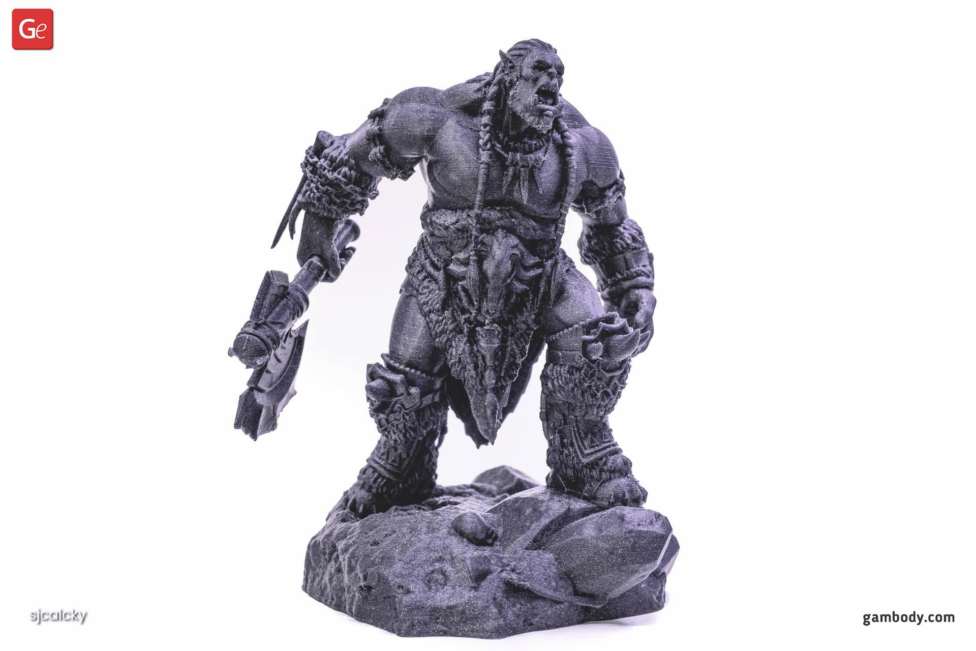Durotan 3D Printing Figurine 2