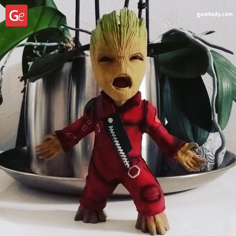 Ravager Groot 3D Printing Figurine