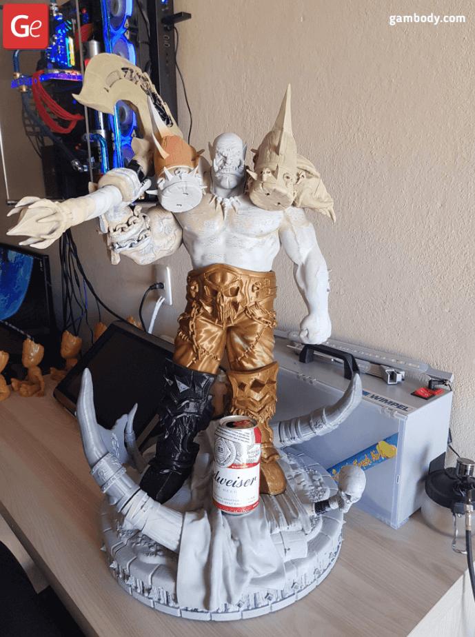 Garrosh 3D Printing Figurine